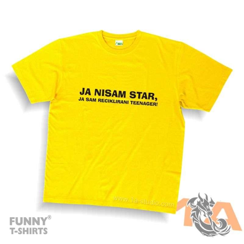 Majice za kraj škole: Ja nisam star, ja sam reciklirani teenager!