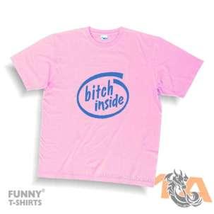 Majice za kraj škole: Bitch inside!