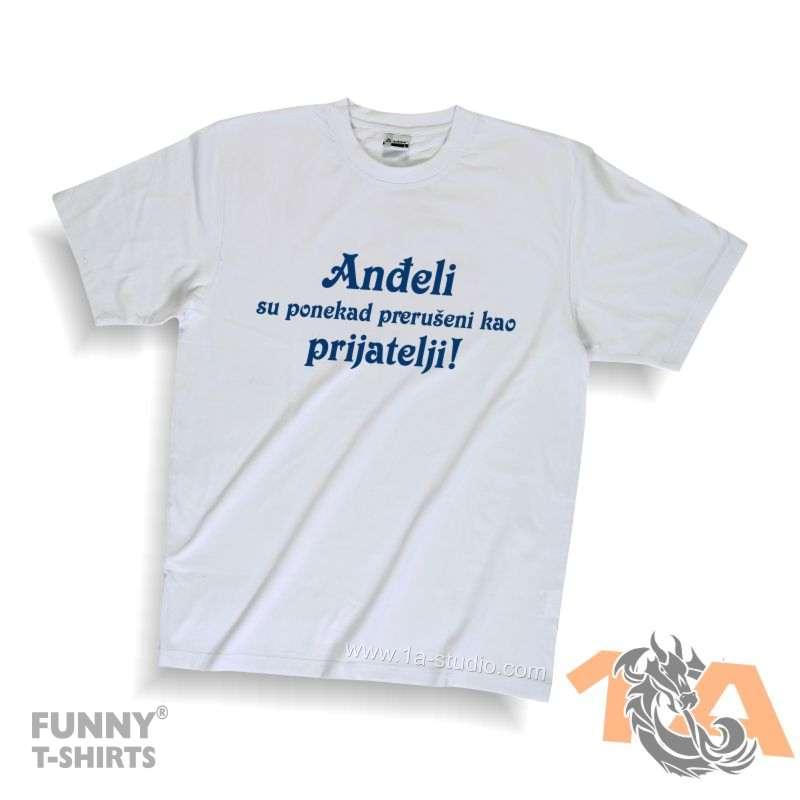 Majice za kraj škole: Anđeli su ponekad prerušeni kao prijatelji.