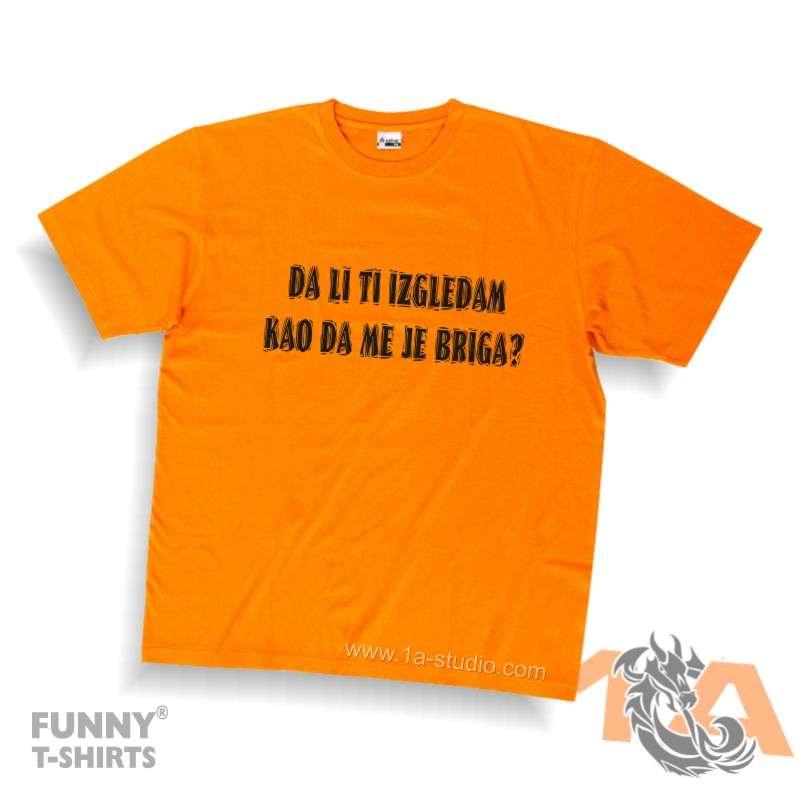 Majice za kraj škole: Da li ti izgledam kao da me je briga!