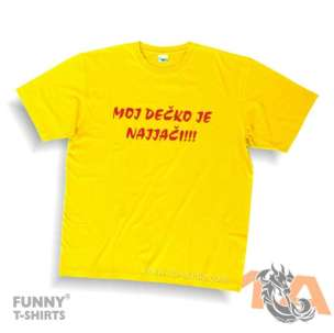 Majice za kraj škole: Moj dečko je najjači!