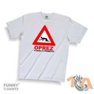 Majice za kraj škole: OPREZ pijanci u prometu!