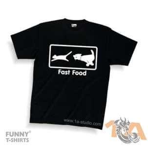 Majice za kraj škole: Fast food
