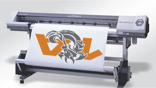 Digitalni tisak folija za oslikavanje vozila.
