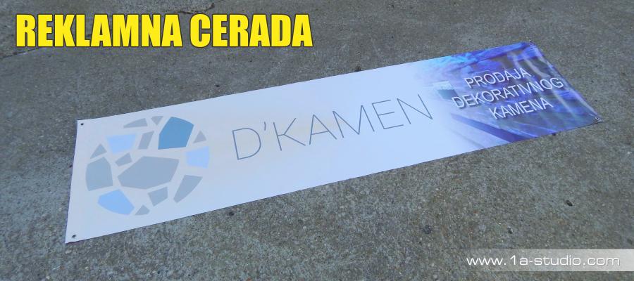 Cerada, PVC Banner, Wallscape, digitalni tisak na cerade.