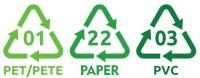 Uzorci papira za tisak etiketa.