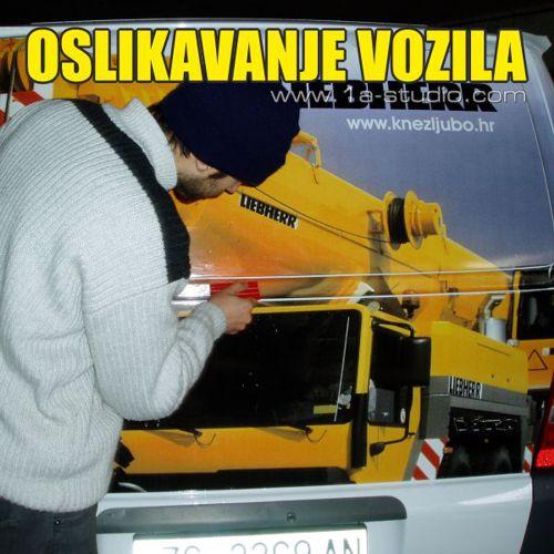 Oslikavanje vozila.