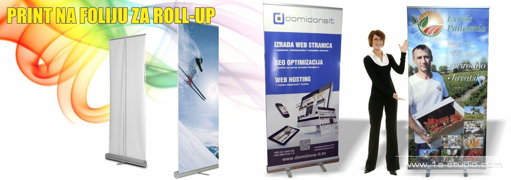 Digitalni tisak na foliju za svjetleće reklame