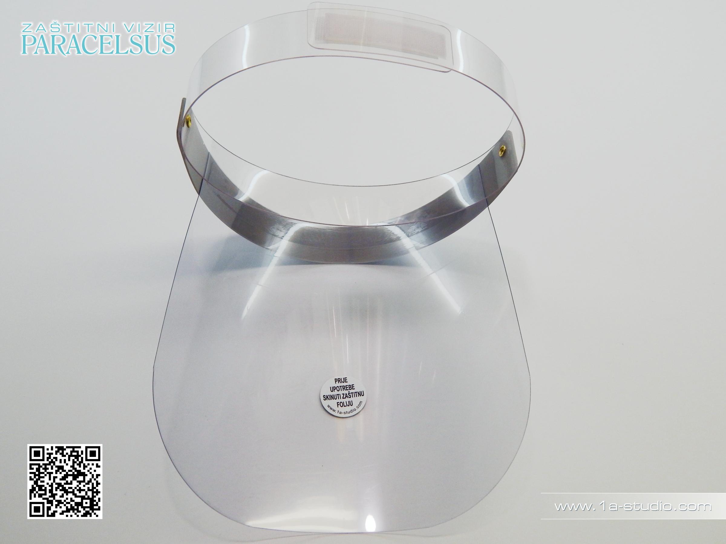 Zaštitni vizir za lice Paracelsus / Dental Face Shield Visor Paracelsus
